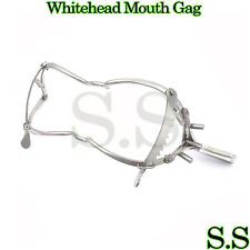 "Whitehead Mouth Gag With Center Piece 6"" OR Grade Stainless Steel"