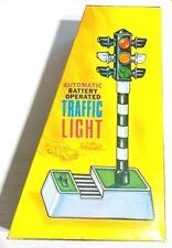 Hong Kong Traffic Light Battery Operated Toy Car Acc. 20cm Plastic Mib`75 Rare!