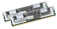 2x 2GB 4GB RAM HP Workstation xw6400  FB DIMM DDR2 Speicher Fully Buffered