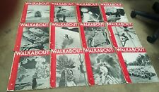 1938 WALKABOUT Magazines X 12  FULL YEAR