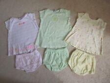 3 Dresses - Carter's - Cotton - Short Sleeve - Girls - Knit - Sz 6M