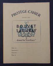 Protège cahier publicitaire BOUVET-LADUBAY carte MAINE-ET-LOIRE Angers
