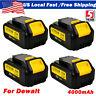 4 NEW For Dewalt 20V 20 Volt DCB205-2 DCB200 DCB204 4.0Ah XR Lithium-Ion Battery
