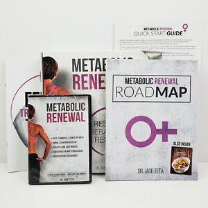 Metabolic Renewal 4-Phase Dr. Jade Teta Box Set DVD, Roadmap Book, Tracker