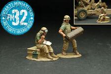 FIGARTI PEWTER IRAQ & AFGHANISTAN WARS IRQ-007 U.S.M.C. ARTILLERY SUPPORT MIB