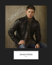 JENSEN ACKLES #1 Signed Photo Print 10x8 Mounted Photo RePrint - FREE DEL