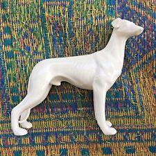 """New ListingGreyhound Dog Statue Vintage10"""" Nymphenberg Samsom Porcelain style Lot of 3"""