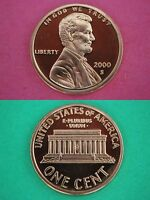 Lot Of TEN 2000 S Proof Lincoln Memorial Cents Deep Cameo Combined Shipping