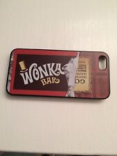 WILLY WONKA BAR GOLDEN TICKET CHARLIE&THE CHOCOLATE FACTORY CASE FOR IPHONE 5/5s