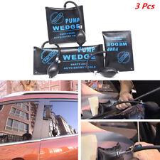 3Pcs Car Air Pump Wedge Inflatable Shim Cushioned Door Opener Powerful Hand Tool