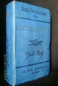 """Guide CONTY """"Environs de PARIS"""" 1902 !"""
