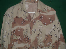 DESERT STORM CHOCOLATE CHIP UNIFORM JACKET SHIRT SMALL REGULAR