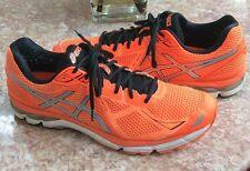 Asics™ GT-2000 3 Men's Orange Running Cross Training Shoes Shoes 14 T500N EUC