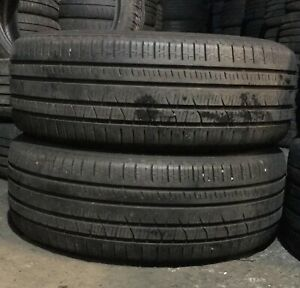 X2 Matching Pair Of 255/55/20 Pirelli Scorpion Verde M+S All Season 110W Tyres