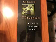 Jazz Collection: Legends of Jazz Saxophone (CD, 3-Disc Set) New