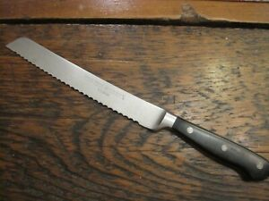 "WUSTHOF CLASSIC  4149 20 cm 8"" SERRATED BREAD KNIFE Solingen Germany"