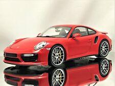 Minichamps Porsche 911 (991 II) MKII Turbo S 2016 Guards Red Model Car 1:18