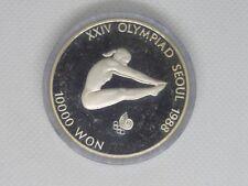 Süd Korea - 10000 Won - Seoul 1988 - Silber - PP - 1987 -Turmspringen
