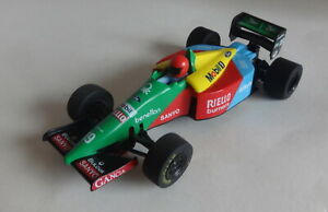 Scalextric C461 Benetton Ford B189 No 19 New Rear Tyres, Serviced Tested