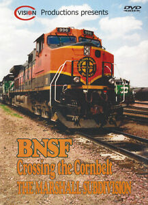 BNSF Crossing the Cornbelt Volume 1 - C Vision Productions DVD