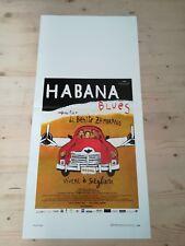 HABANA BLUES Locandina Film 33x70 Poster Originale Cinema BENITO ZAMBRANO