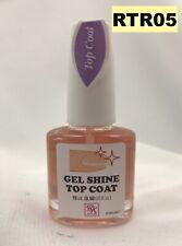 Rk By Kiss Nail Gel Shine Top Coat Rtr05 0.50 Fl Oz
