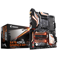 Gigabyte X470 AORUS Gaming 5 WIFI Motherboard CPU AM4 AMD Ryzen DDR4 Dual M.2