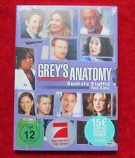 Grey´s Anatomy Staffel 6 Teil 1, DVD-Box Season 6.1 Neu