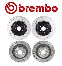 For Mercedes-Benz CLK63 AMG Base Front & Rear Brake Disc Rotors Set Kit Brembo