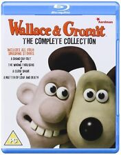 Wallace & Gromit - Complete Collection (Blu-ray, Region Free) *New/Sealed*