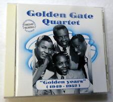 GOLDEN GATE QUARTET CD Golden Years 1949-52 France Import Gospel DOO Wop KZ cd48