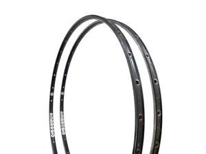 Ambrosio AB4 Durex 28h 700c Servizio Corsa Bicycle Aluminum Black Tubular Rims