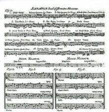 Lot de 4 Serviettes en papier Musique Adagio Blanc Decoupage Decopatch