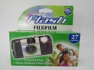 Quick Snap Fuji Film 27 Exposure Quicksnap Flash 35MM Disposable Camera 2017