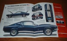 ★★1967 MUSTANG SHELBY GT500 ORIGINAL IMP BROCHURE SPECS INFO GT 500 67 428 FORD★