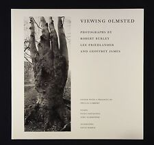 Lee Friedlander Viewing Olmstead New and Signed Photography Book