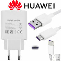 Original Huawei Super Charger USB Type-C 5A Charging For P20 Pro Mate 20 Honor10