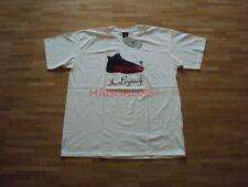 Original Nike Air Jordan XII Black Red Baskets T-shirt NEUF XL 2003 Pièce de collection