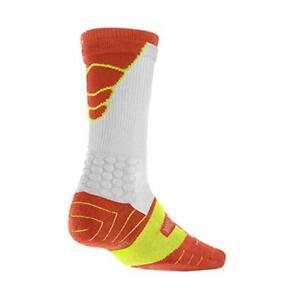 Nike Elite Vapor Mens M 6-8 Cushioned Football Socks Red SX4692 FAST SHIP! F10