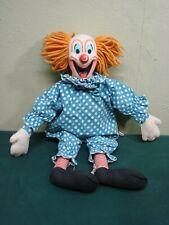1963 Mattel Talking Bozo The Clown Pull String Doll Vintage Toy L@@K