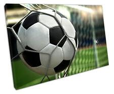 Meta fútbol DE LONA pared arte Foto Grande 75 X 50 Cm