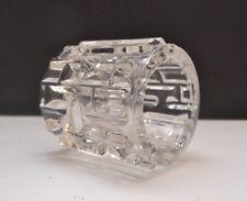 Modernist Czech Art Glass Candle Holder Frantisek Vizner for Rudolfova Hut