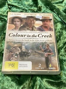 Colour In The Creek DVD Judy Morris Dennis Miller Ray Meagher