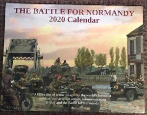 2020 Calendar - The Battle For Normandy (Aviation & Military Art)