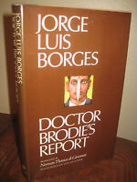 Doctor Brodie's Report Jorge Luis Borges Stories 1st Edition First Printing