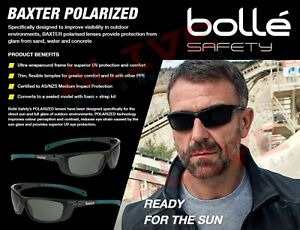 Bolle BAXTER Polarized Sunglasses Safety Sporty Spectacles UV protection Lens