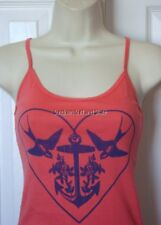 NWT WOMENS BILLABONG FOLLOW THE SUN CORAL CAMI TANK TOP TEE S SMALL NEW