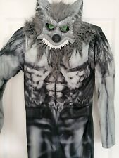 Werewolf Age 13-14 Years Fancy Dress Up Costume Halloween and mask
