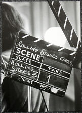 THE ROLLING STONES POSTER PAGE 1968 ROCK AND ROLL CIRCUS CLAPPERBOARD
