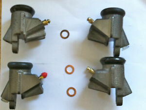 NEW 1959 1960 1961 1962 Plymouth Brake Wheel Cylinder Set, ALL 6 INCLUDED!